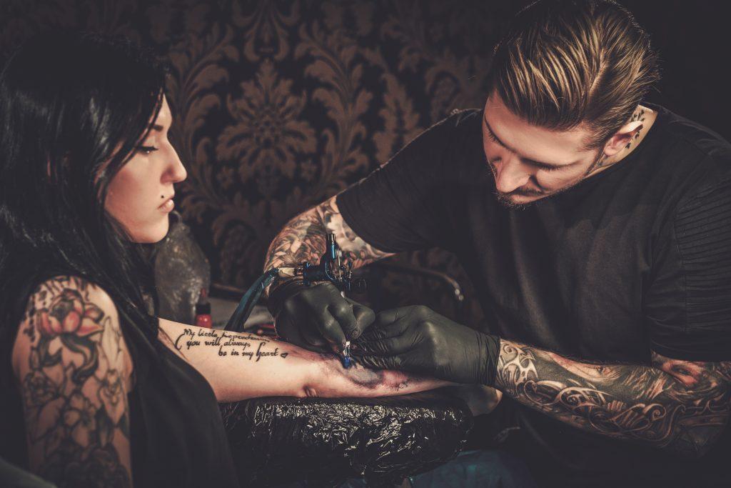 Designing a tattoo